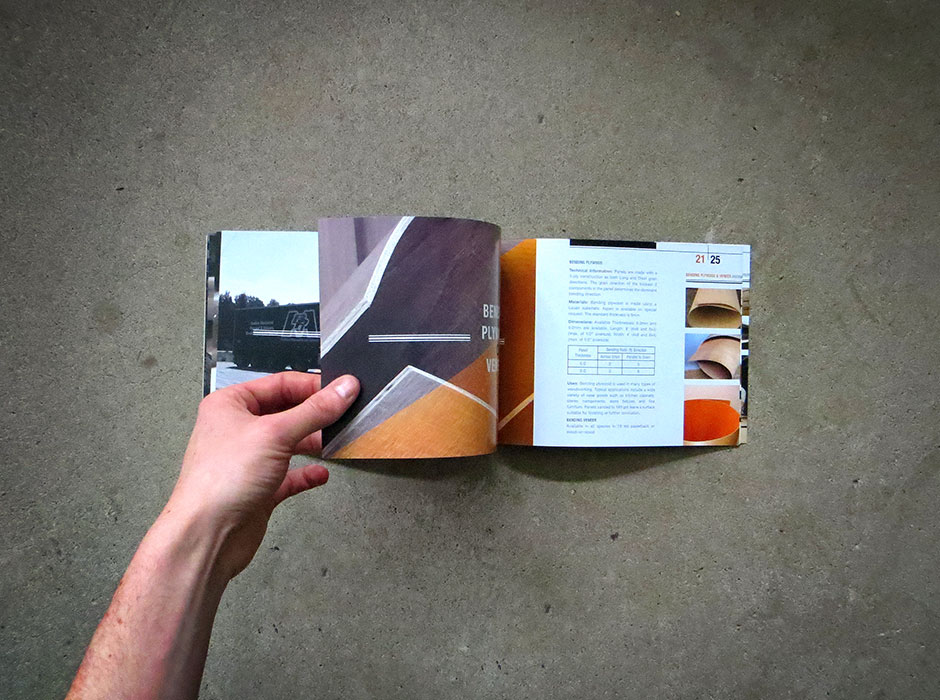 Birchland Plywood-Veneer marketing brochure
