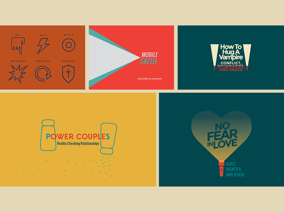ONE Campus Church sermon graphics