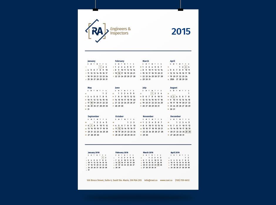 RAEI-Calendar
