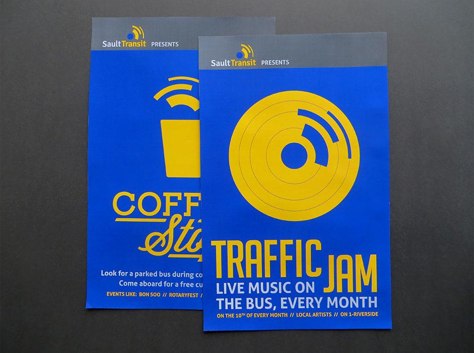 Sault Transit rebrand campaign