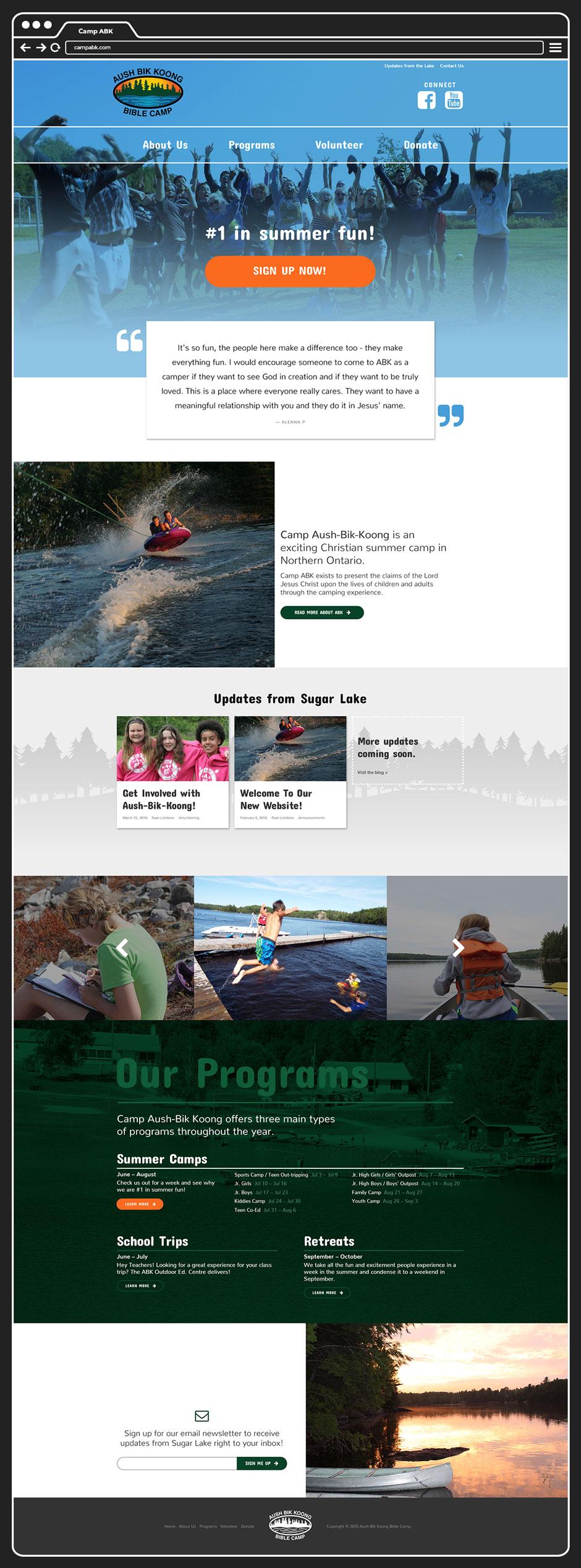 Website, www.campabk.com