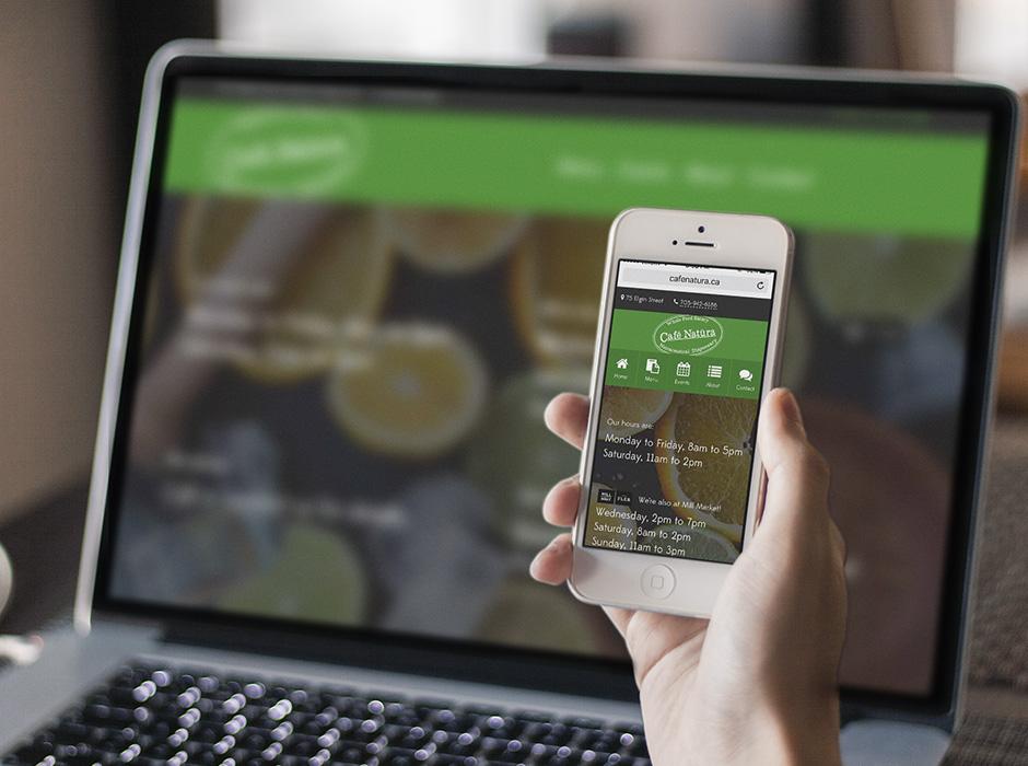 Café Natüra website.